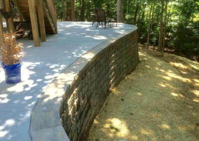 southern-greenscapes-tega-cay-retaining-wall-after